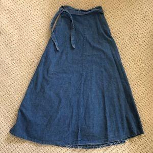 Dresses & Skirts - Modern Prairie Vintage Wrap Skirt